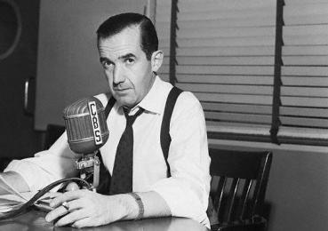 Edward R. Murrow Defending Attack on McCarthy